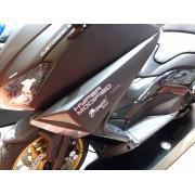 PRESA D'ARIA SINISTRA LAZARETH 530 T MAX HYPER M. 2012 NERO LUMINOSO (SMX)