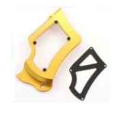 Copri Pignone Oro - Sprocket Cover Gold Ducabike