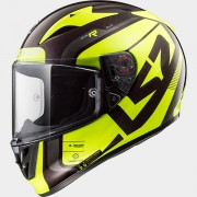 LS2 CASCO INTEGRALE ARROW C EVO FF323 STING Wineberry H-V Yeloww - 103233754