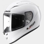 LS2 CASCO INTEGRALE ARROW R EVO FF323 SOLID White - 103231102