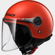 LS2 CASCO JET BAMBINO SOLID OF575J SOLID Red - 30575J1032