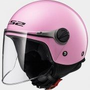 LS2 CASCO JET BAMBINO SOLID OF575J SOLID Pink - 30575J1046