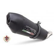SCARICO GPR COMPATIBILE CAGIVA RAPTOR 1000 2000/03 TERMINALI SCARICO OMOLOG.CON RACCORDO GPE ANN.BLACK TITANIUM
