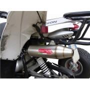 SCARICO GPR COMPATIBILE ACCESS ACCESS BAJA 300 SCARICO COMPLETO OMOLOGATO DEEPTONE EVO4 ATV