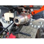 SCARICO GPR COMPATIBILE ADLY ADLY 500 HURRICANE S TERMINALE SCARICO OMOLOGATO DEEPTONE EVO4 ATV