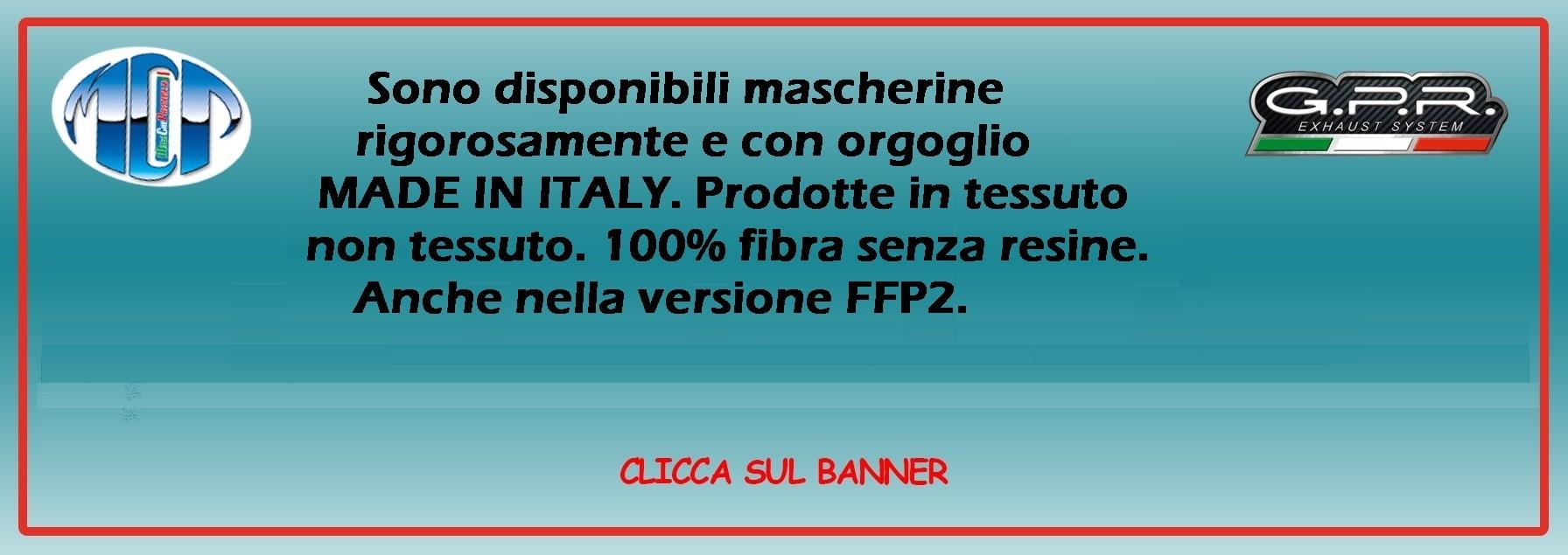 Mascherine MADE IN ITALY